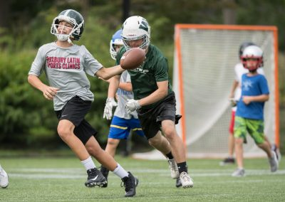 Roxbury Latin Football Clinic